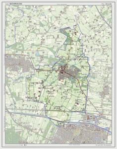 Figuur 21: Kaart van de gemeente Renswoude.