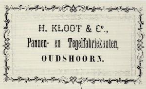 Deel van een kwitantie uit 1880